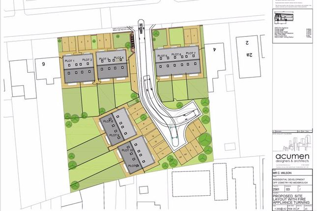 Thumbnail Land for sale in Land For Development, Cemetery Road, Mexborough