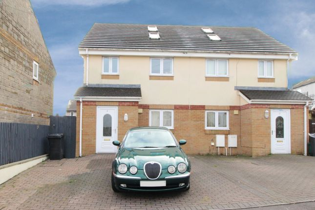 Thumbnail Semi-detached house for sale in Mason Street, Aberdare, Mid Glamorgan