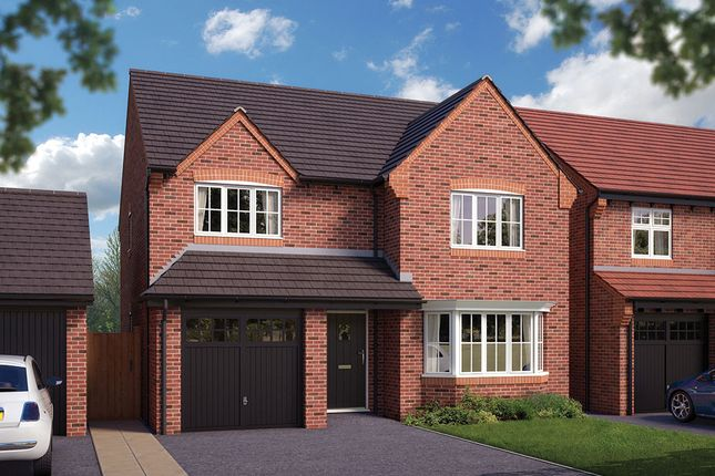 "Thumbnail Detached house for sale in ""The Durham"" at Queens Drive, Nantwich"
