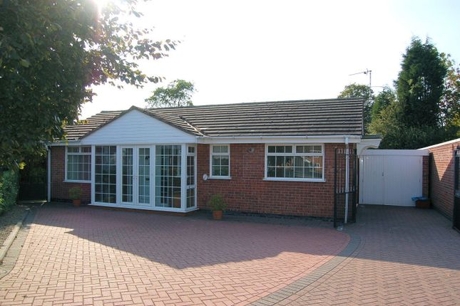 Thumbnail Bungalow for sale in Knights Close, Ashby-De-La-Zouch