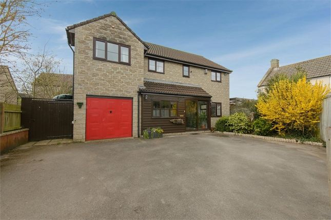 Thumbnail 4 bed detached house for sale in Weymouth Road, Evercreech, Shepton Mallet, Somerset