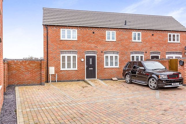 Thumbnail Semi-detached house to rent in Sharnford Mews, Sharnford, Hinckley