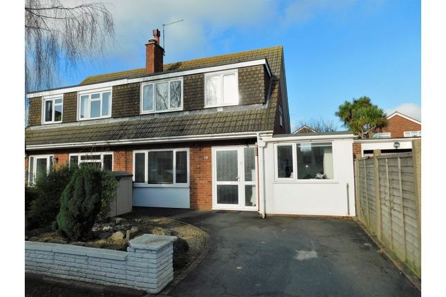 Thumbnail Semi-detached house for sale in Fittleworth Close, Worthing