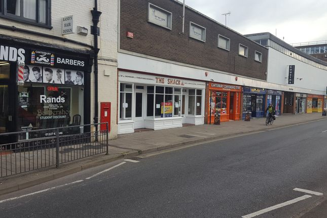 Thumbnail Retail premises to let in Lower Bridge Street, Canterbury