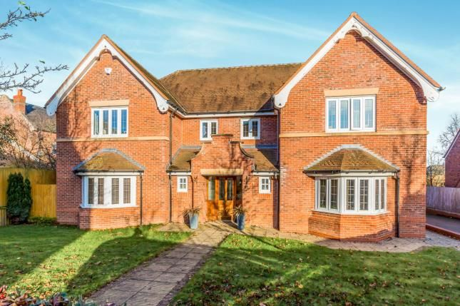 Thumbnail Detached house for sale in Kendal Way, Wychwood Park, Crewe, Cheshire