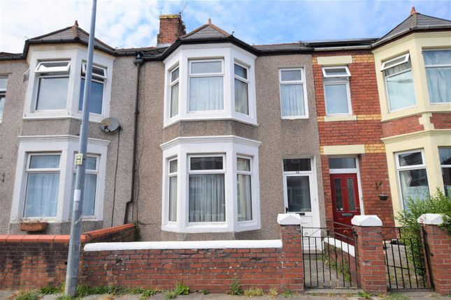 Thumbnail Terraced house for sale in Oxford Street, Barry