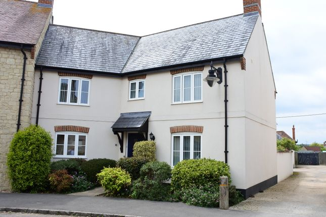 Thumbnail End terrace house for sale in Walnut Road, Mere, Warminster