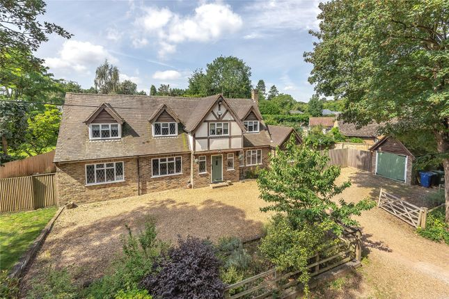 Thumbnail Detached house for sale in Burchetts Green Lane, Burchetts Green, Maidenhead, Berkshire
