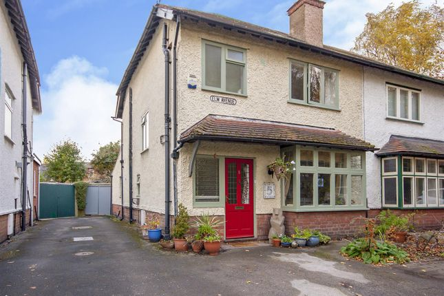 Thumbnail Semi-detached house for sale in Elm Avenue, Beeston, Nottingham