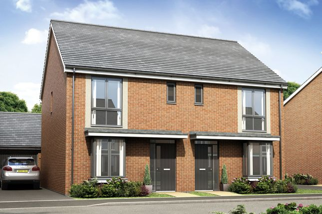 Thumbnail Semi-detached house for sale in The Houghton, Bramshall Meadows, Bramshall, Uttoxeter