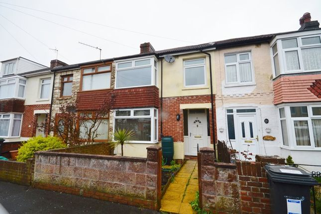 Thumbnail Terraced house to rent in Grange Close, Gosport