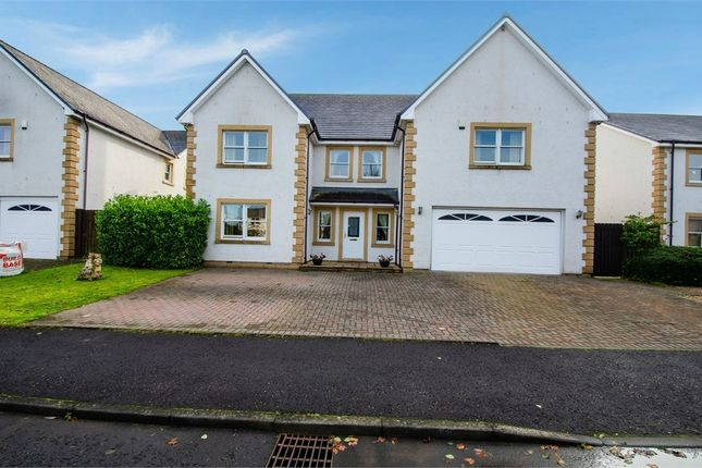 Thumbnail Detached house for sale in Holmwood Park, Crossford, Carluke, South Lanarkshire