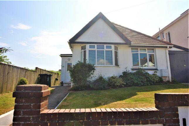 Thumbnail Detached bungalow for sale in Barnfield Road, Paignton
