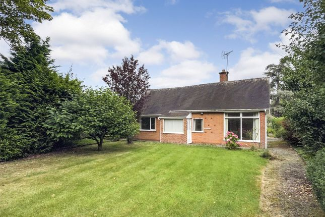 Thumbnail Bungalow for sale in West Drive, Park Hall, Oswestry, Shropshire