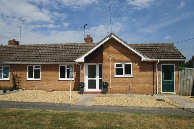 Thumbnail Terraced bungalow for sale in St Matthews Close, Salford Priors, Evesham