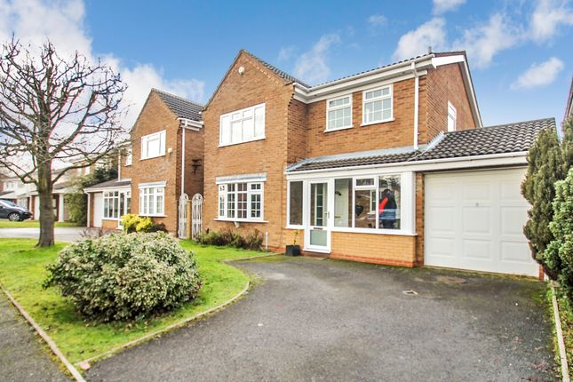 Thumbnail Detached house for sale in Rushwick Grove, Monkspath, Solihull