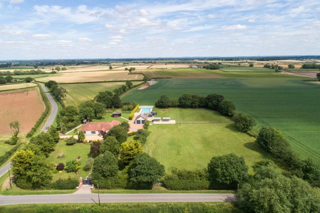 Thumbnail Detached bungalow for sale in East Drayton, Retford, Nottinghamshire