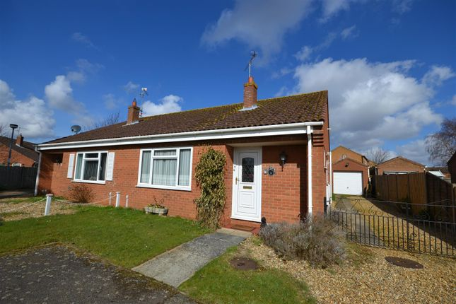 Thumbnail Semi-detached bungalow for sale in Crisp Close, Dersingham, King's Lynn