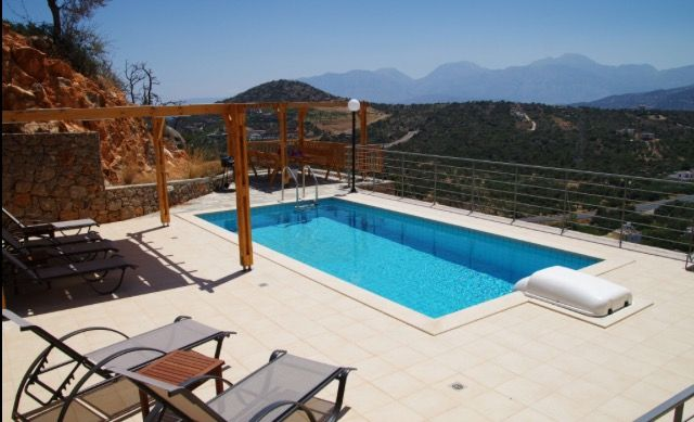 Villa Jasmine View From Pool Terrace