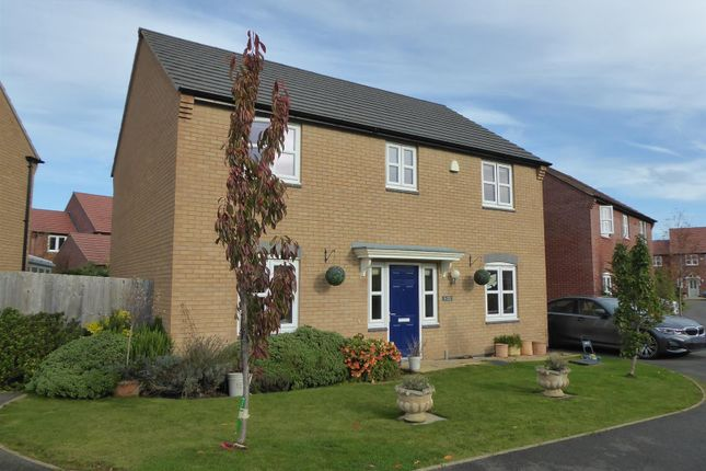 Thumbnail Detached house for sale in The Courtyard, Main Road, Barleythorpe, Oakham