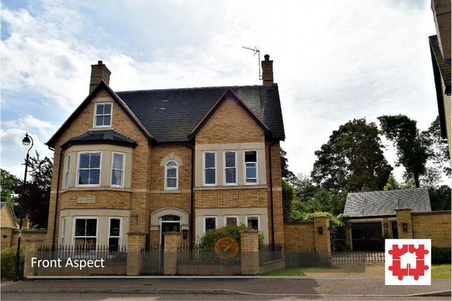 Thumbnail Detached house for sale in Fleming Drive, Stotfold, Herts