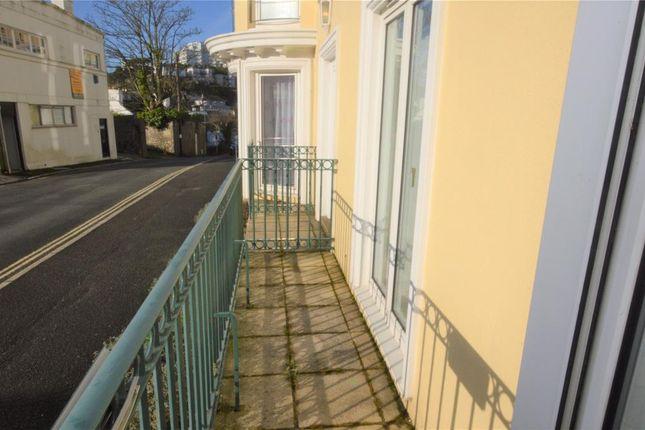 Balcony of The Vinery, Montpellier Road, Torquay, Devon TQ1