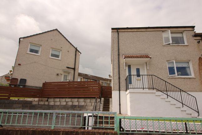 Thumbnail End terrace house for sale in Bute Avenue, Port Glasgow
