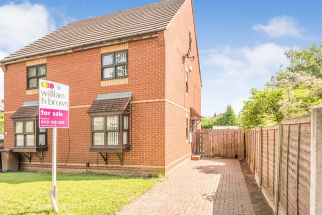 Thumbnail Semi-detached house for sale in Lea Farm Road, Kirkstall, Leeds