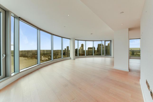 Thumbnail Flat to rent in Charrington Tower, 11 Biscayne Avenue, London