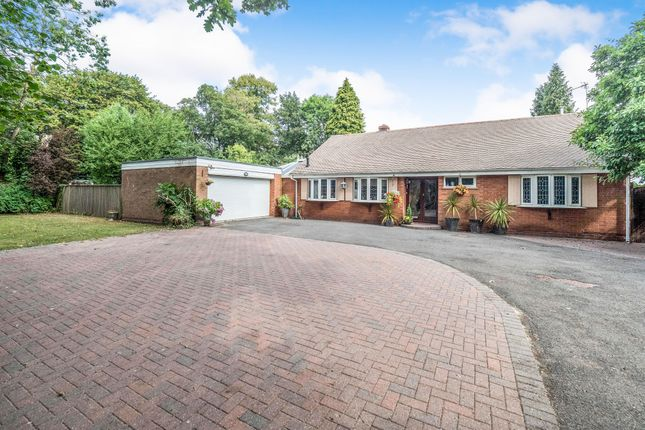 Thumbnail Detached bungalow for sale in Streetsbrook Road, Solihull
