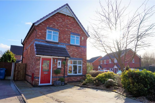 Thumbnail Detached house for sale in Winscar Road, Wigan