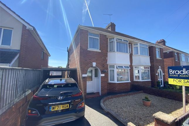 Semi-detached house for sale in Summerway, Exeter, Devon
