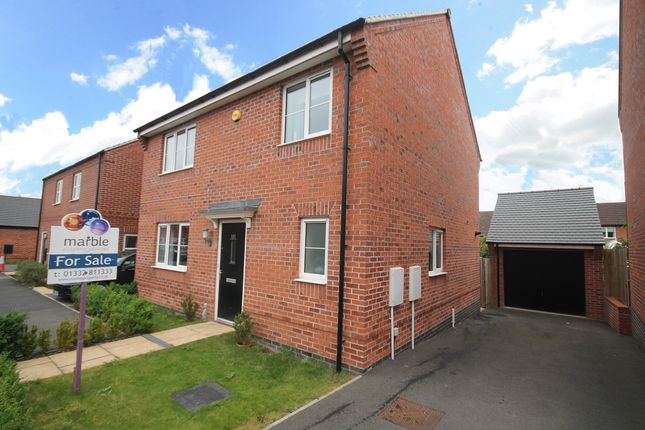 Thumbnail Detached house for sale in Spitfire Road, Castle Donington, Derby