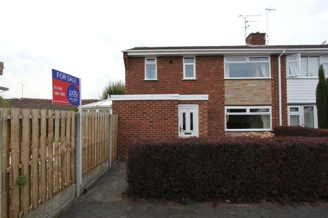 Thumbnail Semi-detached house for sale in Naomi Close, Blacon, Chester