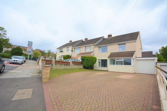 Thumbnail Semi-detached house for sale in Trowbridge Road, Rumney, Cardiff.