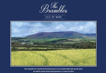 Thumbnail Land for sale in Plot 1 The Brambles, East, Union Mills, Isle Of Man