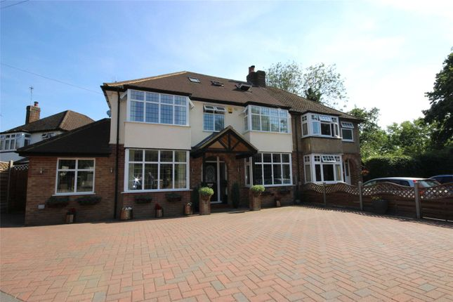 Thumbnail Semi-detached house for sale in Meadow Walk, Harpenden, Hertfordshire