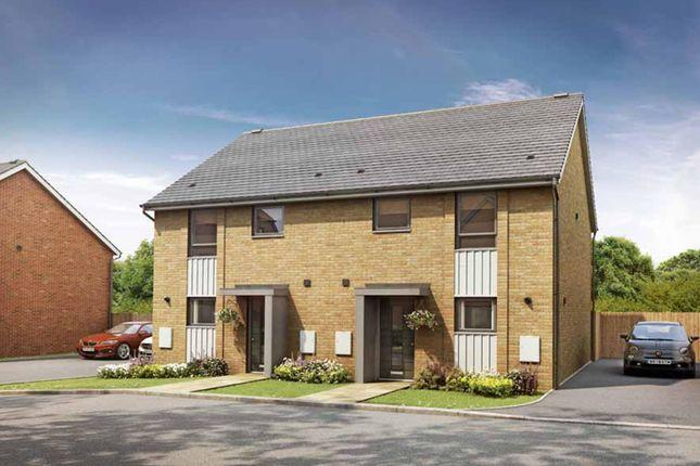 "Thumbnail Semi-detached house for sale in ""Barwick"" at Marsh Lane, Harlow"