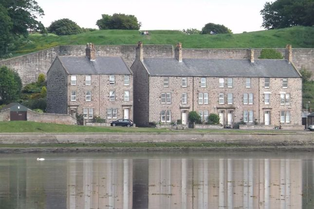Thumbnail Terraced house for sale in Longstone View, Pier Road, Berwick Upon Tweed