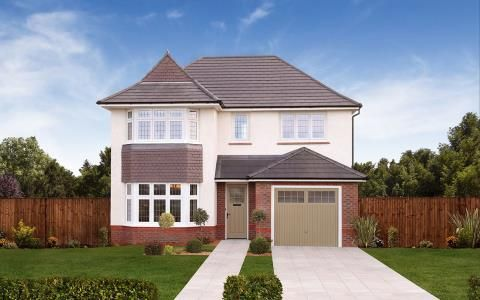 Thumbnail Detached house for sale in Off Penrhos Road, Bangor, Gwynedd
