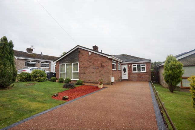 Thumbnail Detached bungalow for sale in Pynder Close, Washingborough