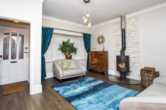 Lounge of Granville Avenue, Long Eaton, Nottingham, Derbyshire NG10