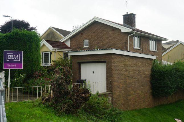 Thumbnail Detached house for sale in Cae Rhys Ddu Road, Cimla Neath