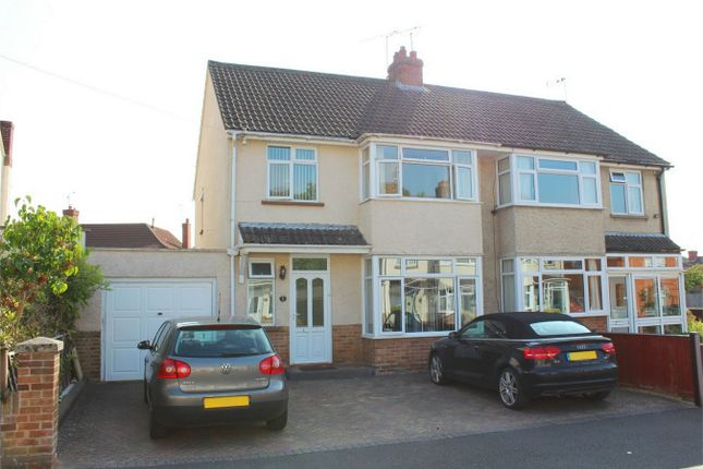 Thumbnail Semi-detached house for sale in 4 Beverley Close, Taunton, Somerset