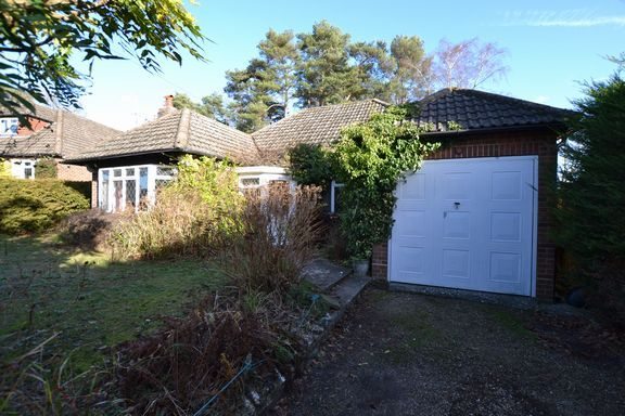 Thumbnail Detached bungalow for sale in Little Copse, Fleet