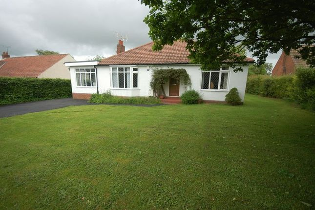 Thumbnail Detached bungalow to rent in Edge Hill, Ponteland, Newcastle Upon Tyne