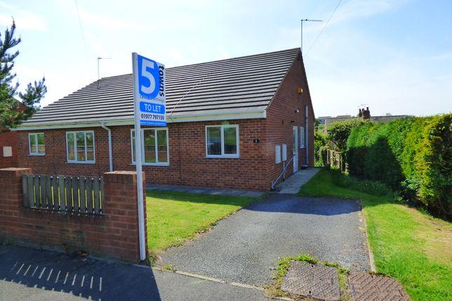 Thumbnail Semi-detached bungalow to rent in Stumpcross Meadows, Pontefract