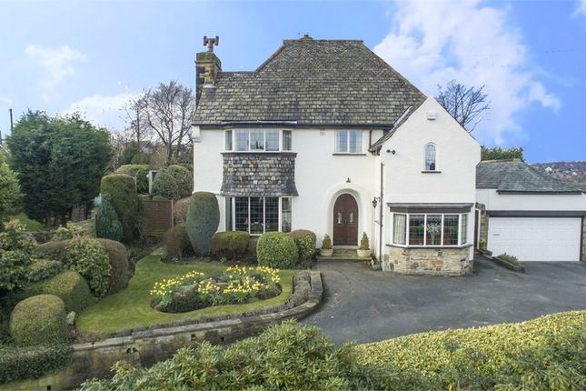 Thumbnail Detached house for sale in Hightown Road, Cleckheaton, West Yorkshire