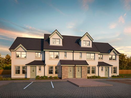 Thumbnail Flat for sale in Ostlers Way, Kirkcaldy, Fife