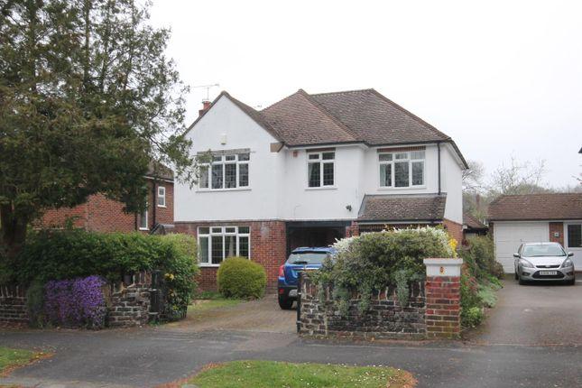 Thumbnail Detached house for sale in Leopold Avenue, Farnborough